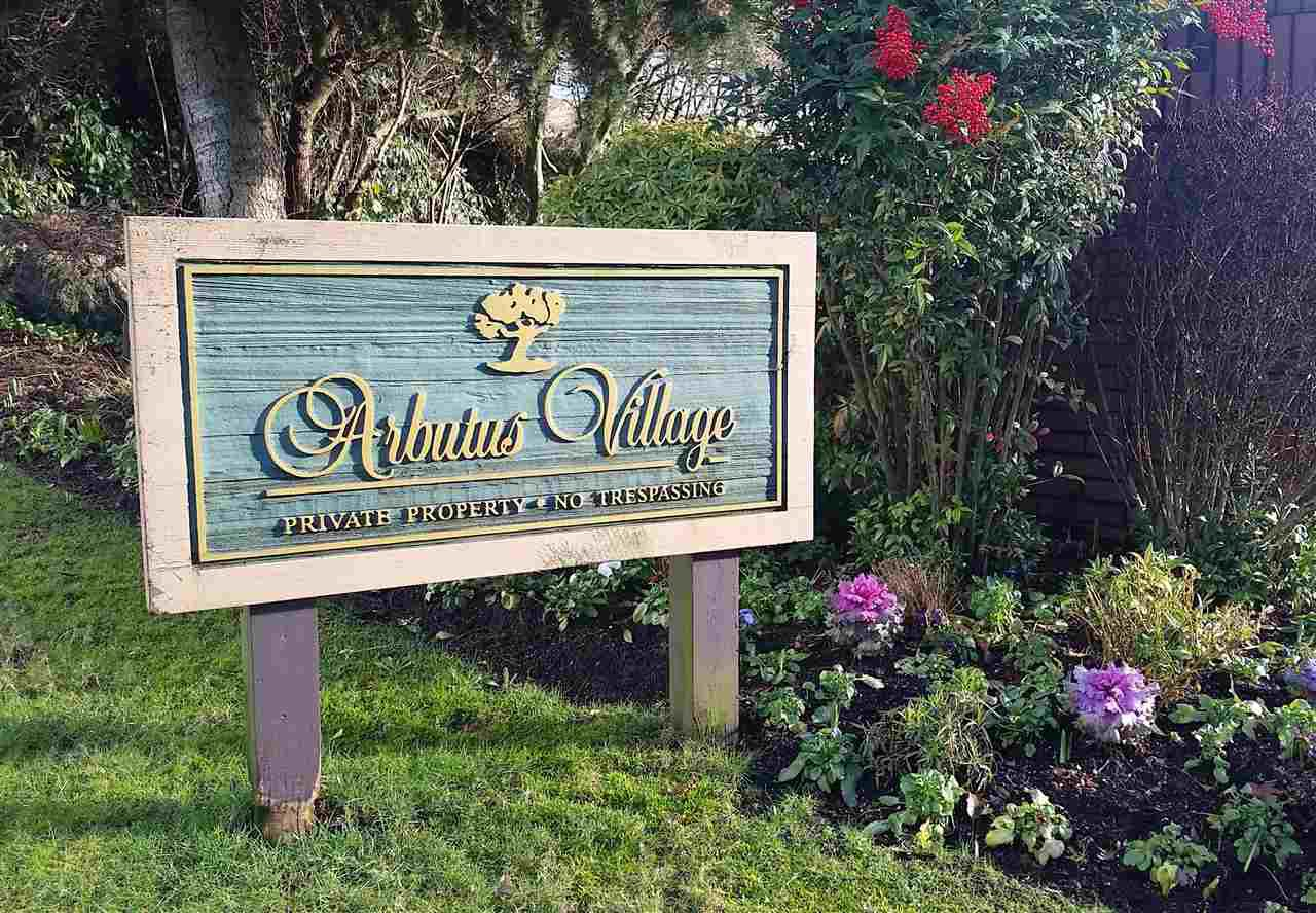 """Main Photo: 3947 PARKWAY Drive in Vancouver: Quilchena Townhouse for sale in """"ARBUTUS VILLAGE"""" (Vancouver West)  : MLS®# R2256144"""