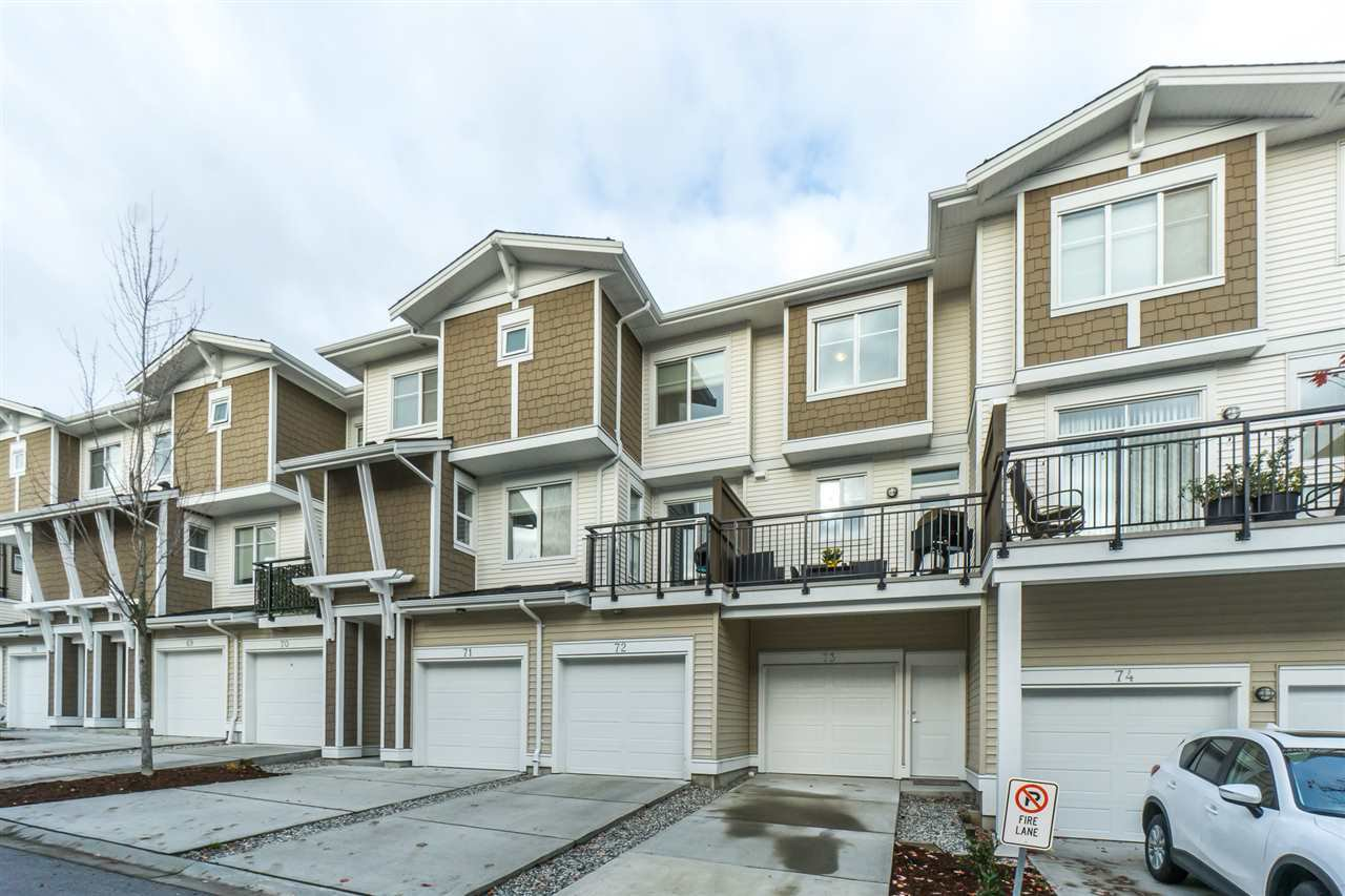 "Main Photo: 73 19433 68 Avenue in Surrey: Clayton Townhouse for sale in ""The Grove"" (Cloverdale)  : MLS®# R2323341"