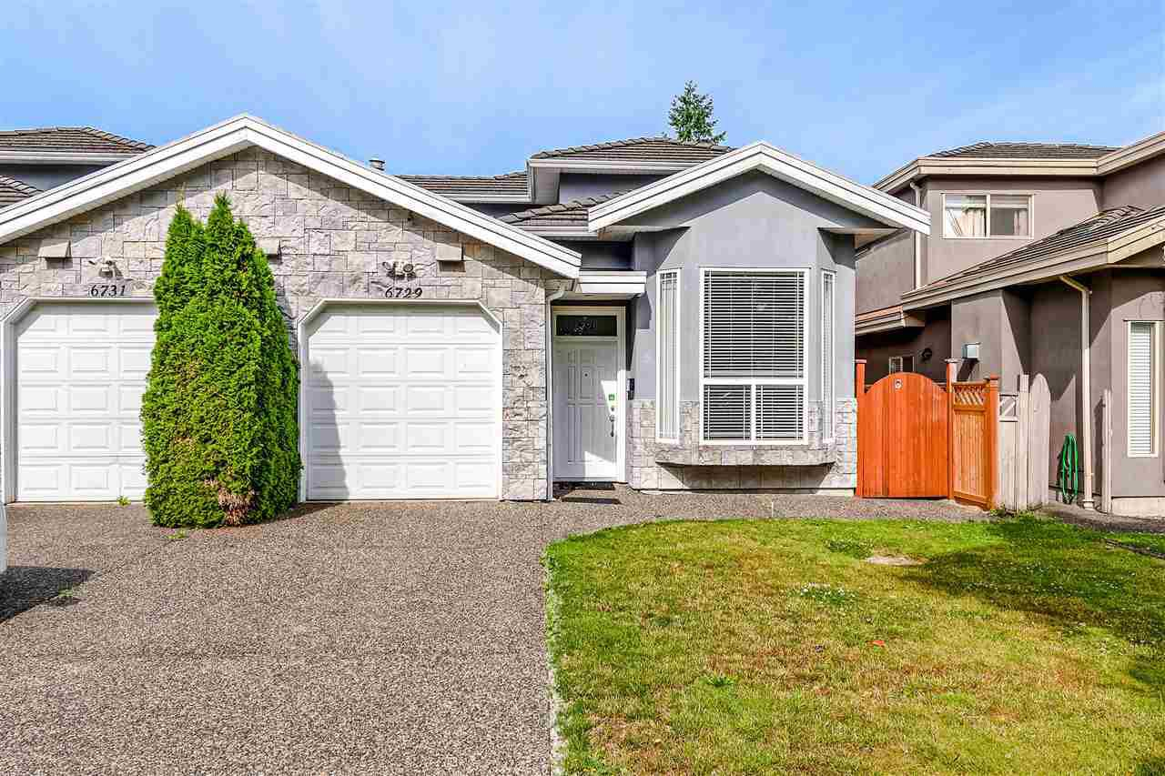 Main Photo: 6729 ASHWORTH Avenue in Burnaby: Upper Deer Lake House 1/2 Duplex for sale (Burnaby South)  : MLS®# R2392395
