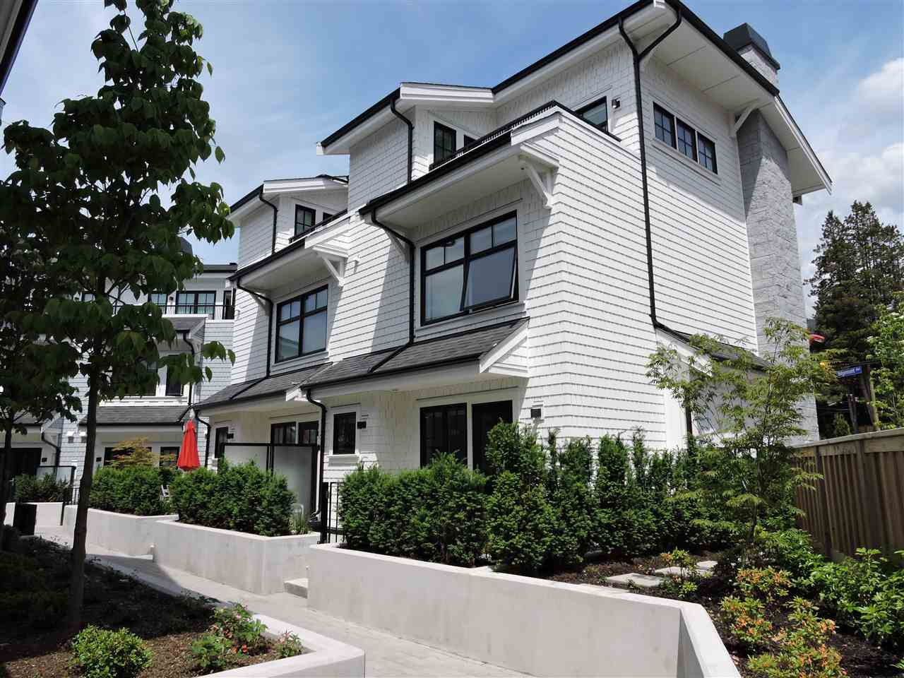 Main Photo: 14 1133 Ridgewood Drive in North Vancouver: Edgemont Townhouse for sale : MLS®# R2372640