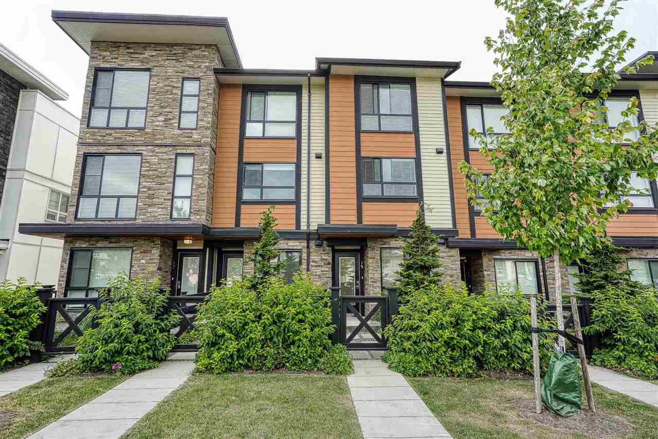 "Main Photo: 19 20857 77A Avenue in Langley: Willoughby Heights Townhouse for sale in ""WEXLEY"" : MLS®# R2410839"