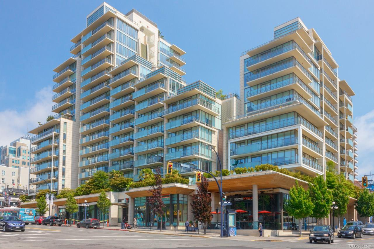 Main Photo: 1601 707 Courtney St in : Vi Downtown Condo for sale (Victoria)  : MLS®# 862534