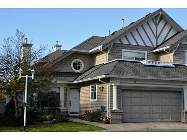 """Main Photo: 41 5531 CORNWALL Drive in Richmond: Terra Nova Townhouse for sale in """"QUILCHENA GREEN"""" : MLS®# V1040434"""