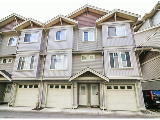 "Main Photo: 112 12040 68TH Avenue in Surrey: West Newton Townhouse for sale in ""TERRANE"" : MLS®# F1429051"