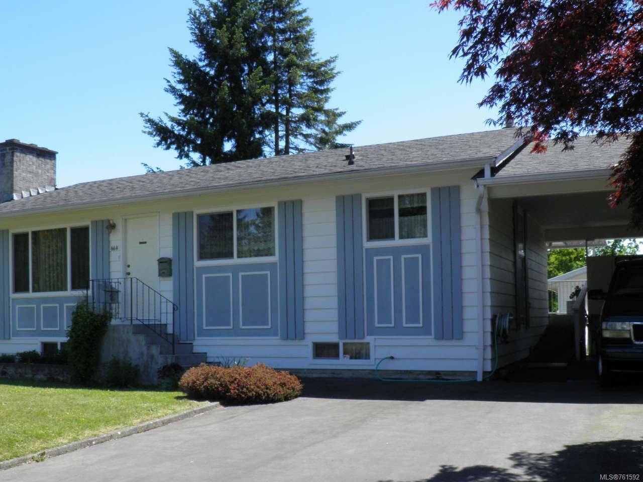 Main Photo: 664 19th St in COURTENAY: CV Courtenay City House for sale (Comox Valley)  : MLS®# 761592