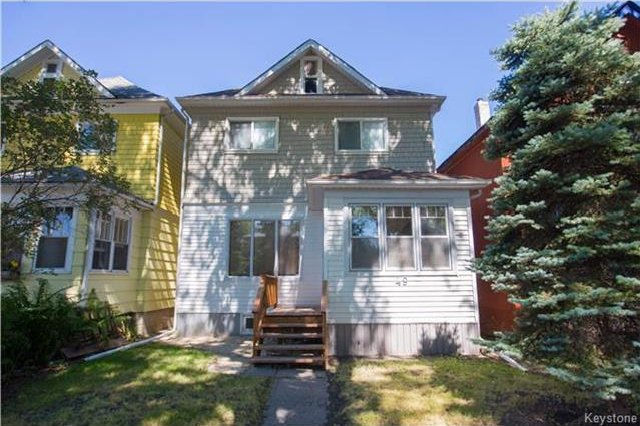 Main Photo: 49 Morley Avenue in Winnipeg: Riverview Residential for sale (1A)  : MLS®# 1720494