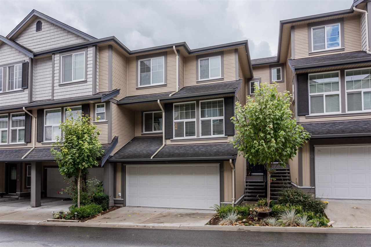 "Main Photo: 60 20831 70 Avenue in Langley: Willoughby Heights Townhouse for sale in ""RADIUS at MILNER HEIGHTS"" : MLS®# R2207253"