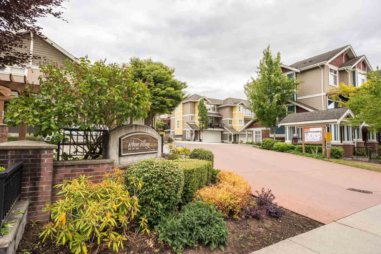 "Main Photo: 19 6036 164 Street in Surrey: Cloverdale BC Townhouse for sale in ""Arbour Village"" (Cloverdale)  : MLS®# R2278844"