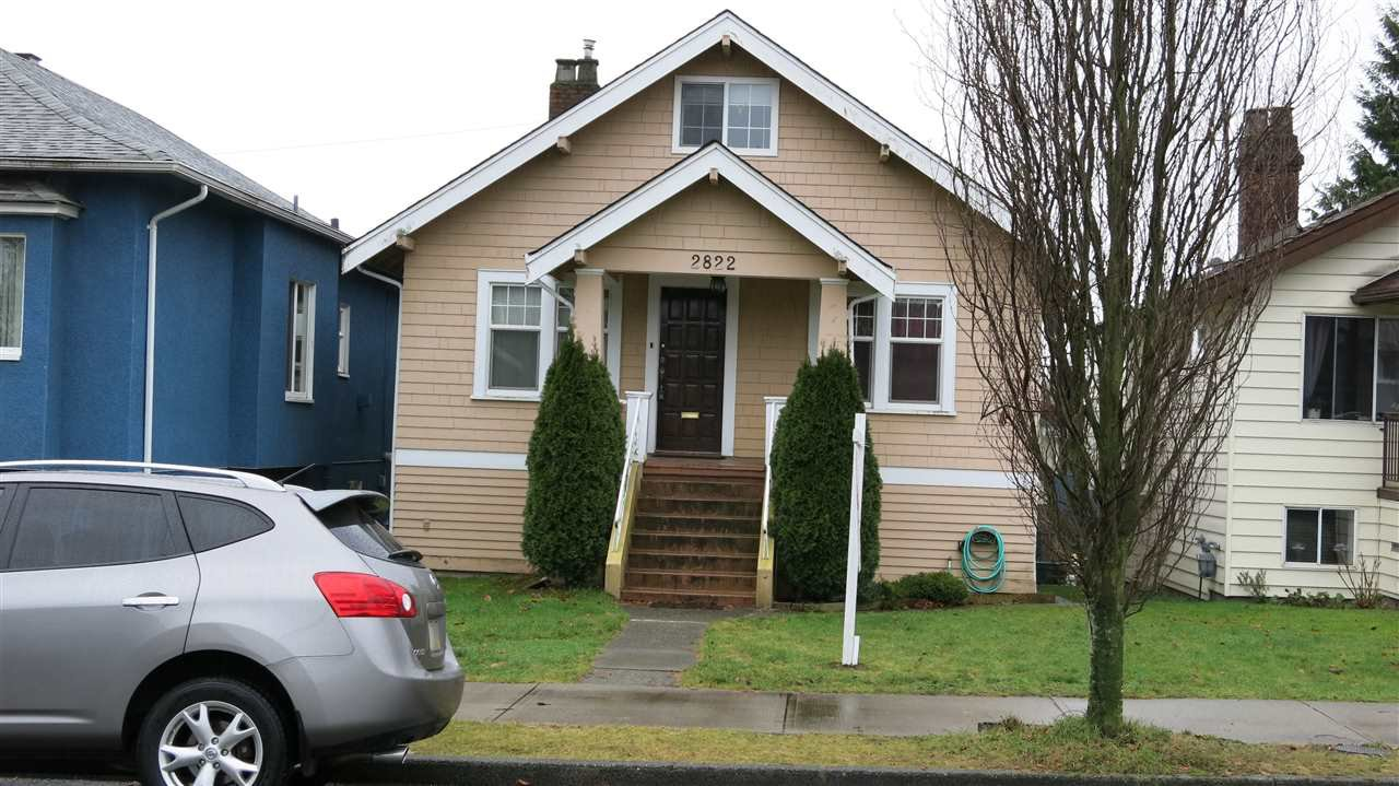 Main Photo: 2822 TURNER Street in Vancouver: Renfrew VE House for sale (Vancouver East)  : MLS®# R2329301