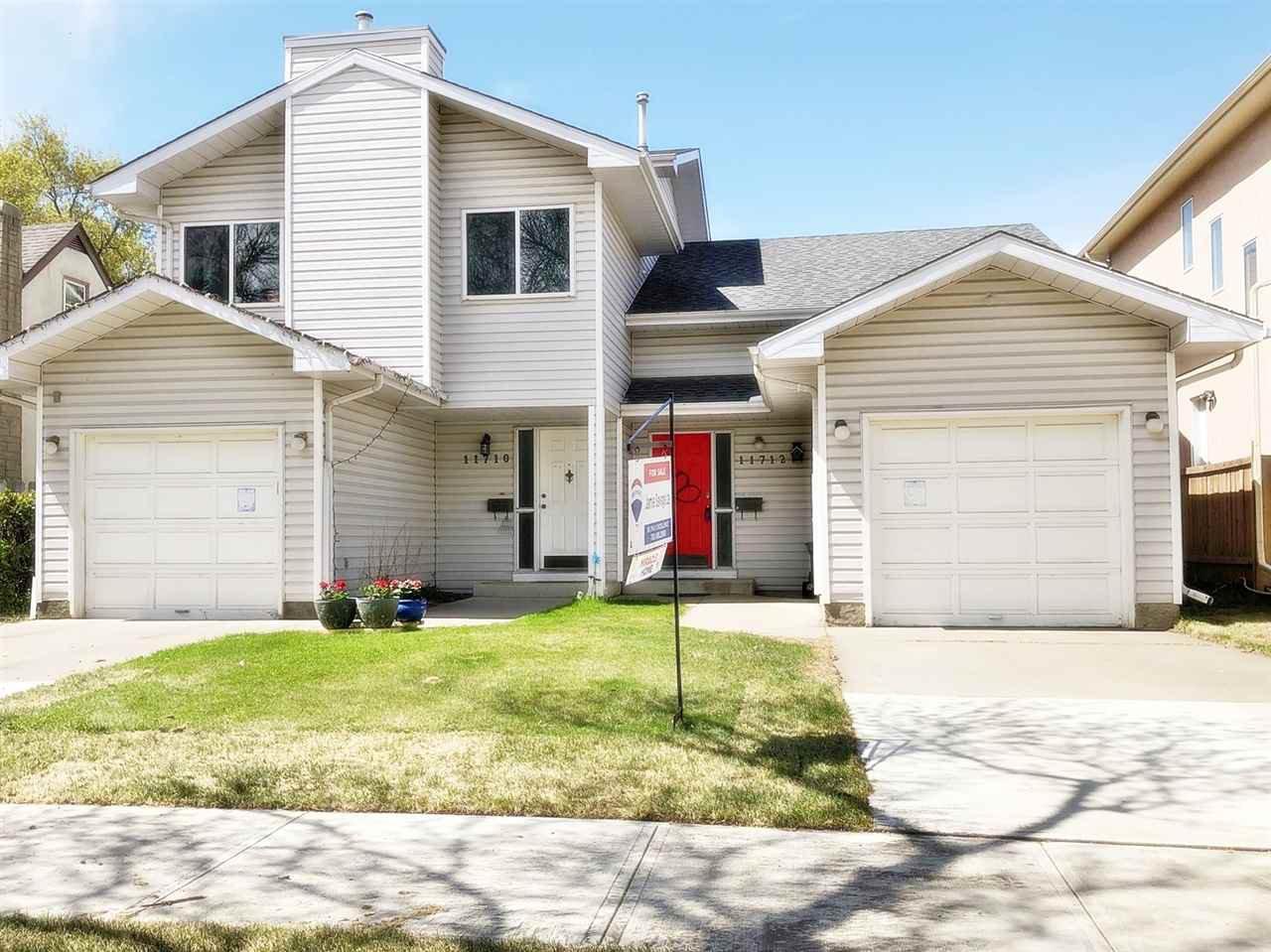 Main Photo: 11712 123 Street in Edmonton: Zone 07 House Half Duplex for sale : MLS®# E4197616