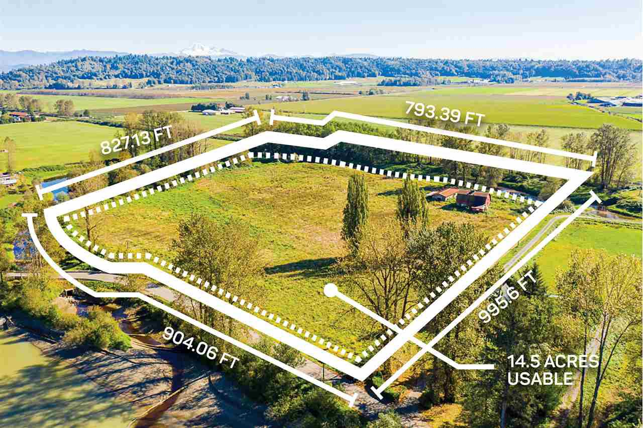 Main Photo: 27612 RIVER Road in Abbotsford: Bradner Agri-Business for sale : MLS®# C8034538
