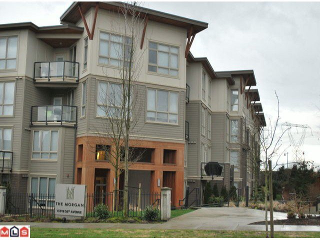 "Main Photo: 318 15918 26 Avenue in Surrey: Grandview Surrey Condo for sale in ""The Morgan"" (South Surrey White Rock)  : MLS®# F1103560"