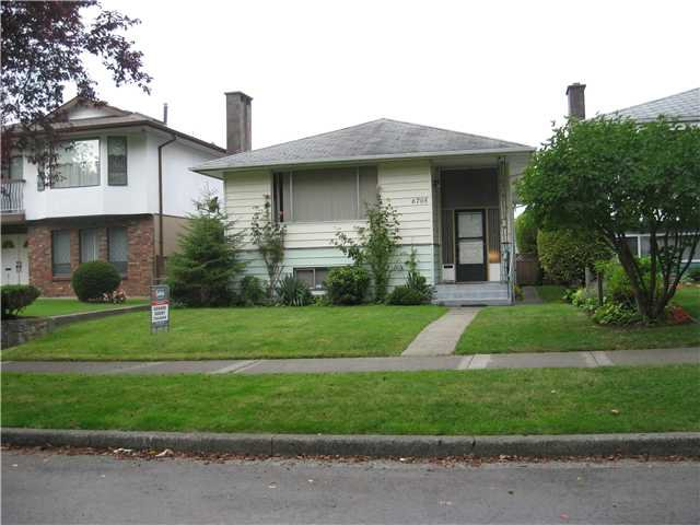 Main Photo: 6705 BROOKS Street in Vancouver: Killarney VE House for sale (Vancouver East)  : MLS®# V910410