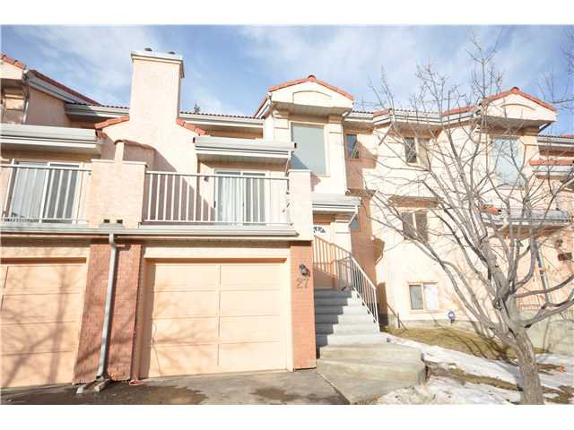 Main Photo: 27 5810 PATINA Drive SW in CALGARY: Prominence_Patterson Townhouse for sale (Calgary)  : MLS®# C3597559