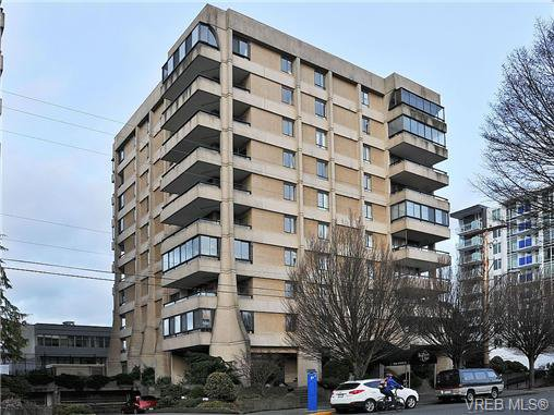 Main Photo: 802 1034 Johnson St in VICTORIA: Vi Downtown Condo Apartment for sale (Victoria)  : MLS®# 682246