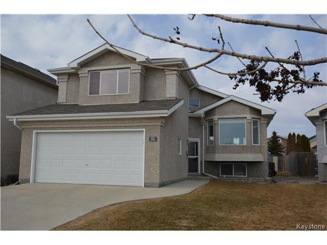Main Photo: 31 Frigate Bay in WINNIPEG: Windsor Park / Southdale / Island Lakes Residential for sale (South East Winnipeg)  : MLS®# 1508327