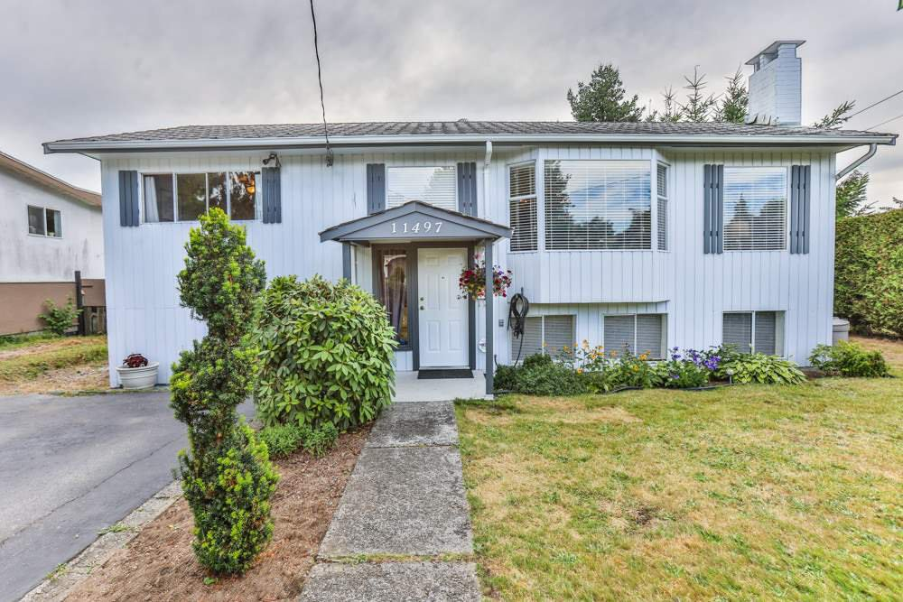 Main Photo: 11497 BARCLAY Street in Maple Ridge: Southwest Maple Ridge House for sale : MLS®# R2189856