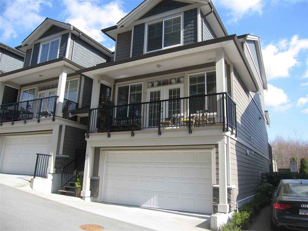 "Main Photo: 11 11384 BURNETT Street in Maple Ridge: East Central Townhouse for sale in ""MAPLE CREEK ESTATES"" : MLS®# R2256062"