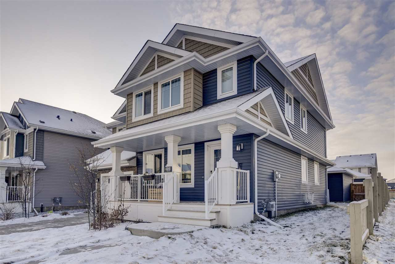 Main Photo: 6846 EVANS Wynd in Edmonton: Zone 57 House Half Duplex for sale : MLS®# E4180996