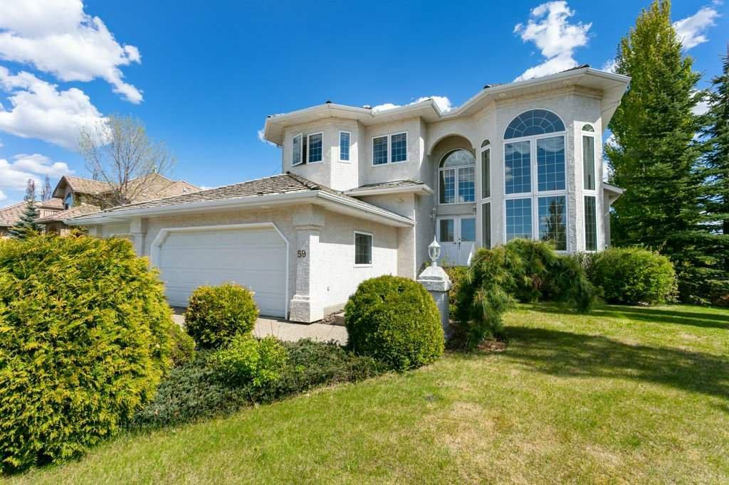 Main Photo: 59 Fountain Creek Drive: Rural Strathcona County House for sale : MLS®# E4188654