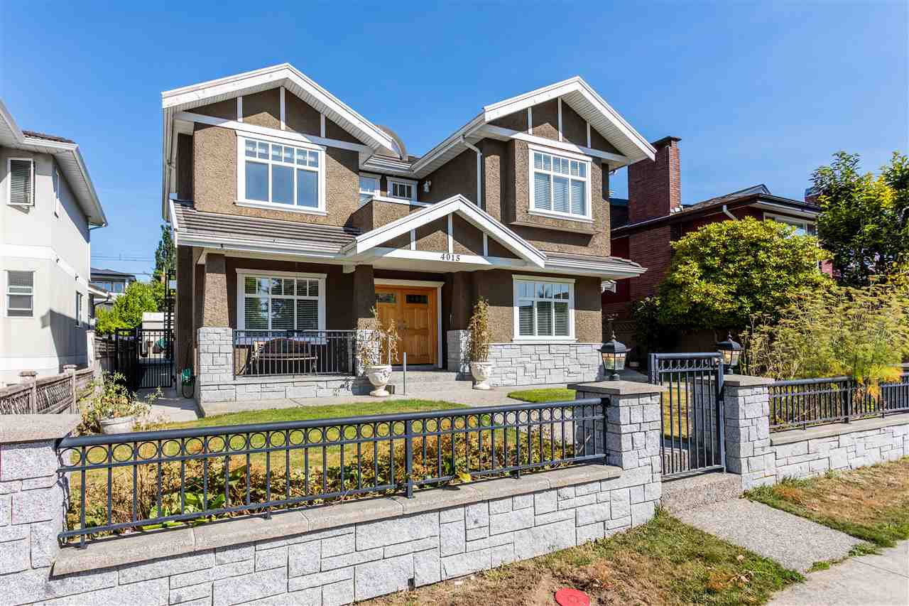 Main Photo: 4015 FRANCES Street in Burnaby: Willingdon Heights House for sale (Burnaby North)  : MLS®# R2495067