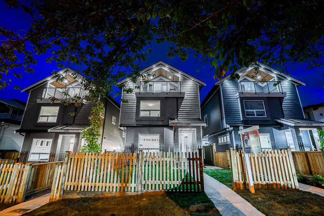 Main Photo: 4578 DUMFRIES Street in Vancouver: Knight House 1/2 Duplex for sale (Vancouver East)  : MLS®# R2497965
