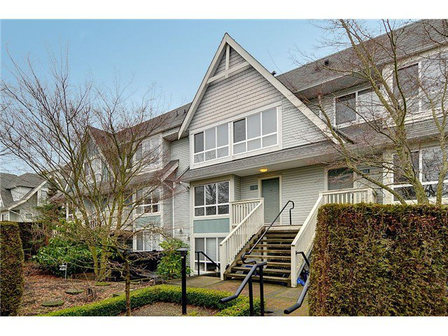 "Main Photo: 7327 MAGNOLIA Terrace in Burnaby: Highgate Townhouse for sale in ""MONTEREY"" (Burnaby South)  : MLS®# V1047030"