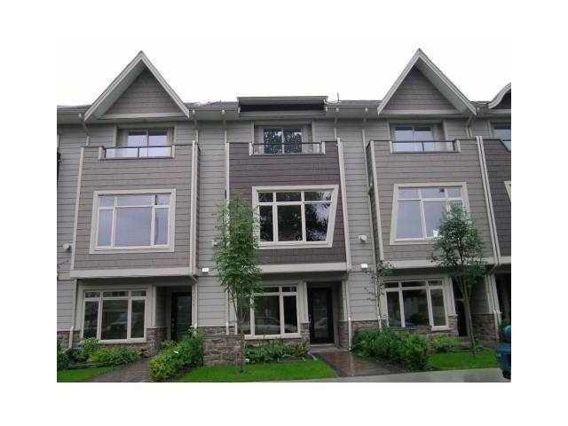 Main Photo: 2012 FRASER Avenue in Port Coquitlam: Glenwood PQ Townhouse for sale : MLS®# V1057277
