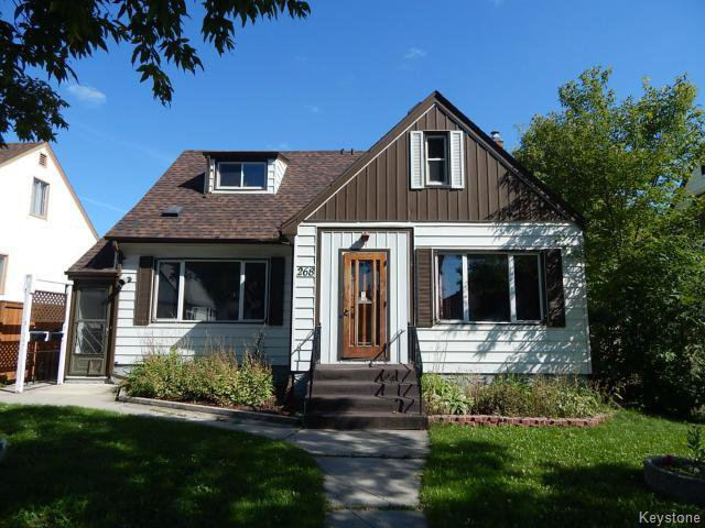 Main Photo: 268 Des Meurons Street in WINNIPEG: St Boniface Residential for sale (South East Winnipeg)  : MLS®# 1423651