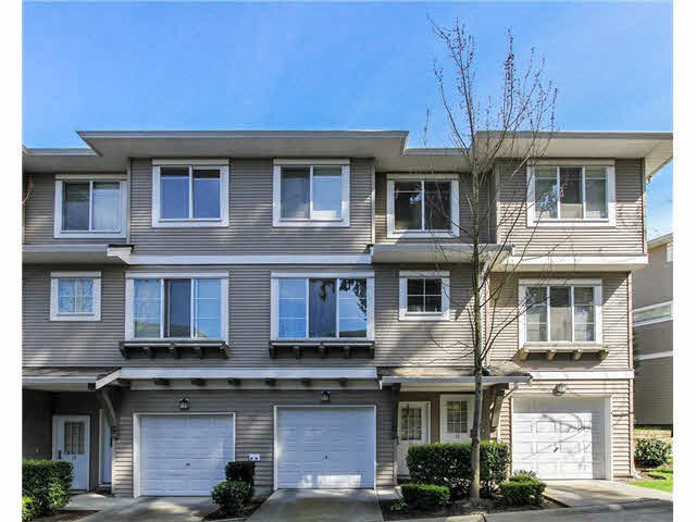 "Main Photo: 11 15155 62A Avenue in Surrey: Sullivan Station Townhouse for sale in ""Oaklands"" : MLS®# F1437519"