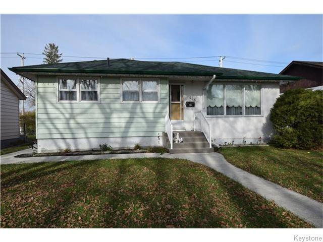 Main Photo: 613 Melrose Avenue West in WINNIPEG: Transcona Residential for sale (North East Winnipeg)  : MLS®# 1529134