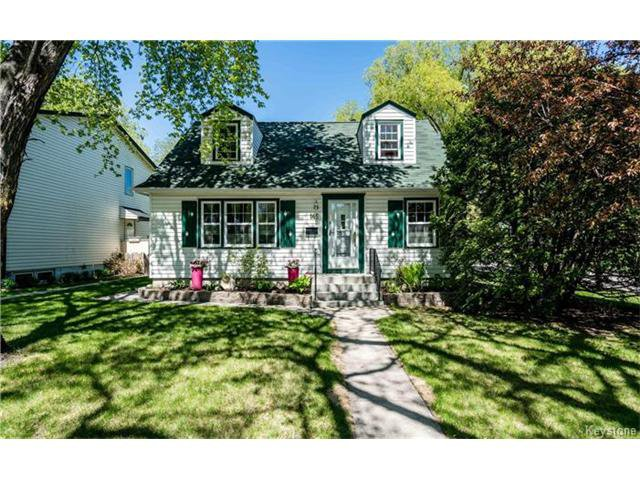 Main Photo: 145 Oakwood Avenue in Winnipeg: Riverview Residential for sale (1A)  : MLS®# 1712597