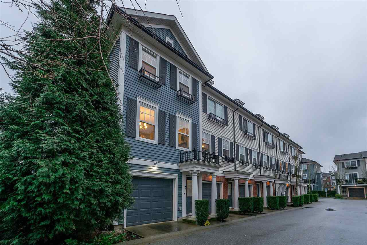 "Main Photo: 23 18983 72A Avenue in Surrey: Clayton Townhouse for sale in ""Kew"" (Cloverdale)  : MLS®# R2238282"