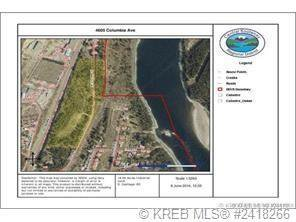 Main Photo: 4605 COLUMBIA AVENUE in South Castlegar: Vacant Land for sale : MLS®# 2427891