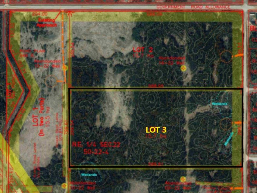 Main Photo: Lot 3 RR 222 Twp Rd. 504: Rural Leduc County Rural Land/Vacant Lot for sale : MLS®# E4214511