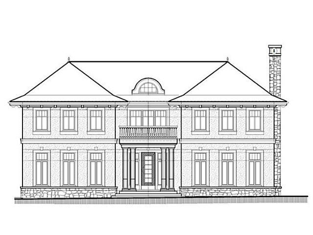 Exterior Front: Build your 6000sf dream home! Huge lot 97x138=13383SF