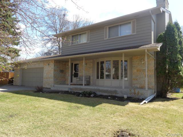 Main Photo: 131 Coleridge Park Drive in WINNIPEG: Westwood / Crestview Residential for sale (West Winnipeg)  : MLS®# 1510869