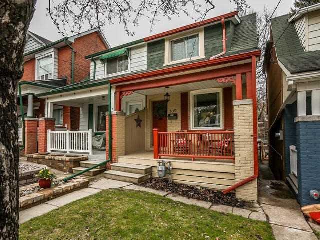 Main Photo: 309 Kenilworth Avenue in Toronto: The Beaches House (2-Storey) for sale (Toronto E02)  : MLS®# E3477274
