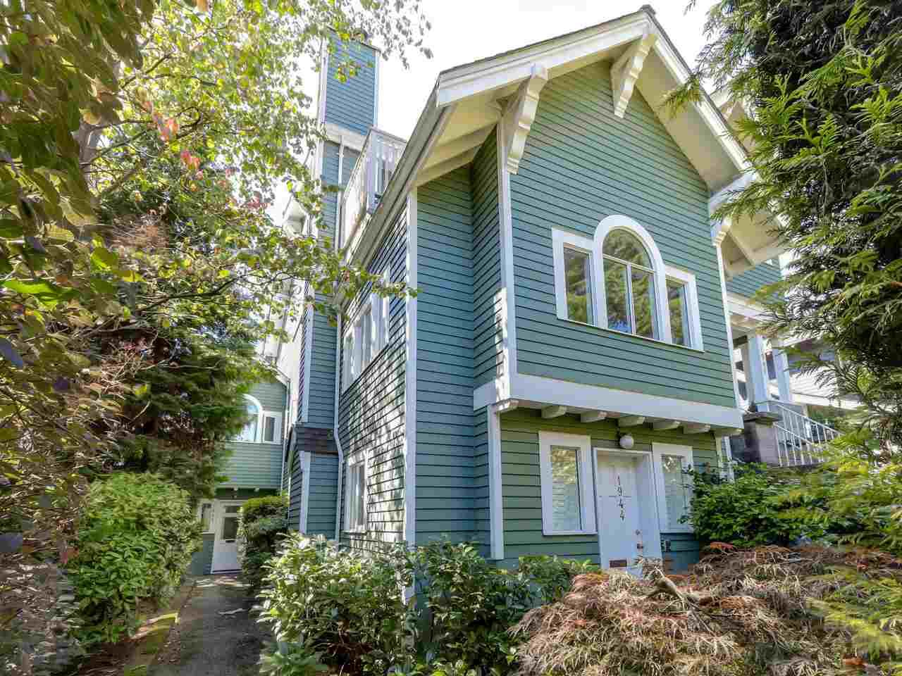 Main Photo: 1942 W 15TH Avenue in Vancouver: Kitsilano Townhouse for sale (Vancouver West)  : MLS®# R2088741