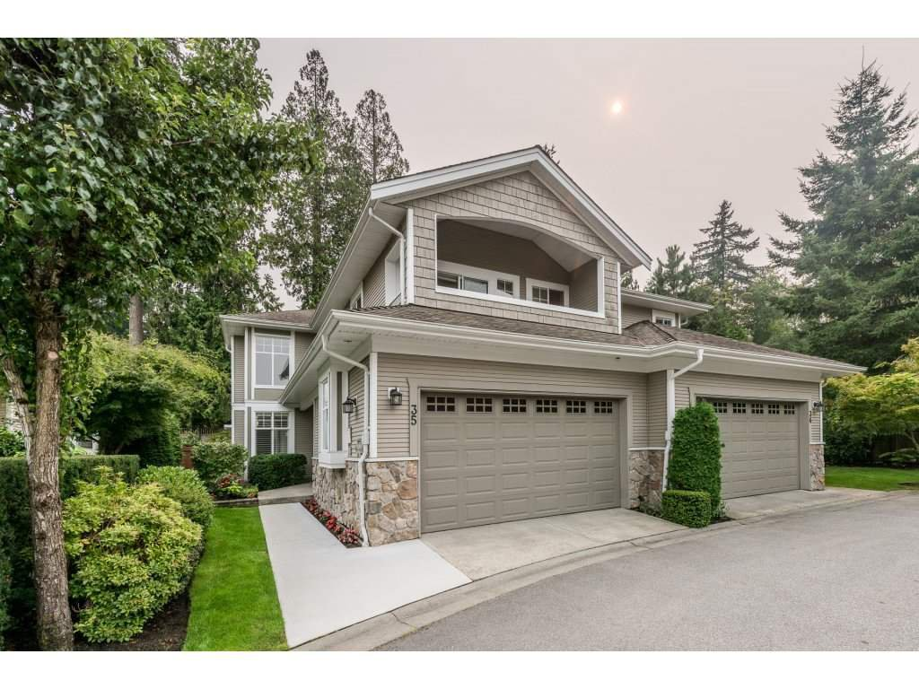 "Main Photo: 35 3500 144 Street in Surrey: Elgin Chantrell Townhouse for sale in ""THE CRESCENTS"" (South Surrey White Rock)  : MLS®# R2202039"