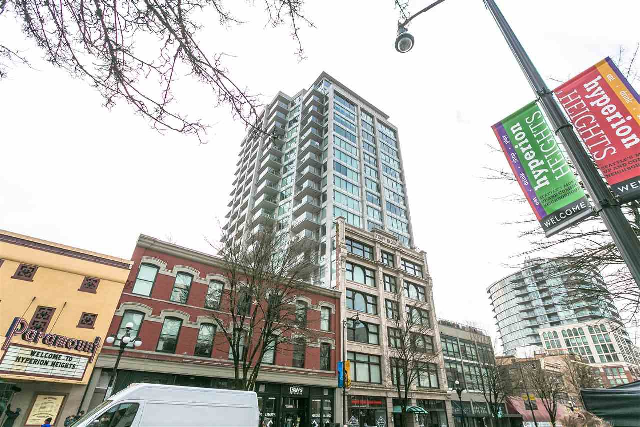 """Main Photo: 705 668 COLUMBIA Street in New Westminster: Quay Condo for sale in """"TRAPP & HOLBROOK"""" : MLS®# R2244807"""