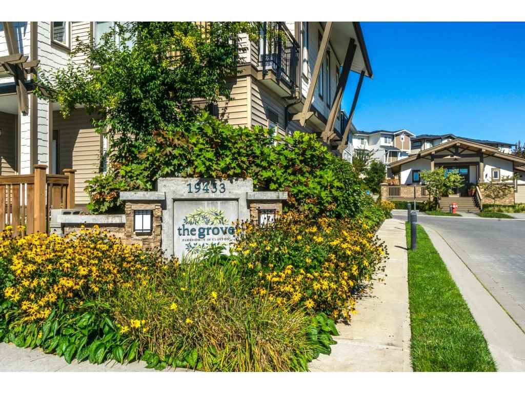 """Main Photo: 134 19433 68 Avenue in Surrey: Clayton Townhouse for sale in """"The Grove"""" (Cloverdale)  : MLS®# R2248020"""