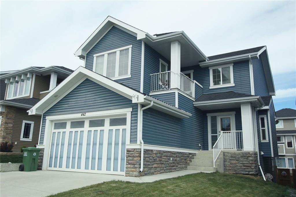 Main Photo: 442 RIVER HEIGHTS Drive: Cochrane Detached for sale : MLS®# C4256367