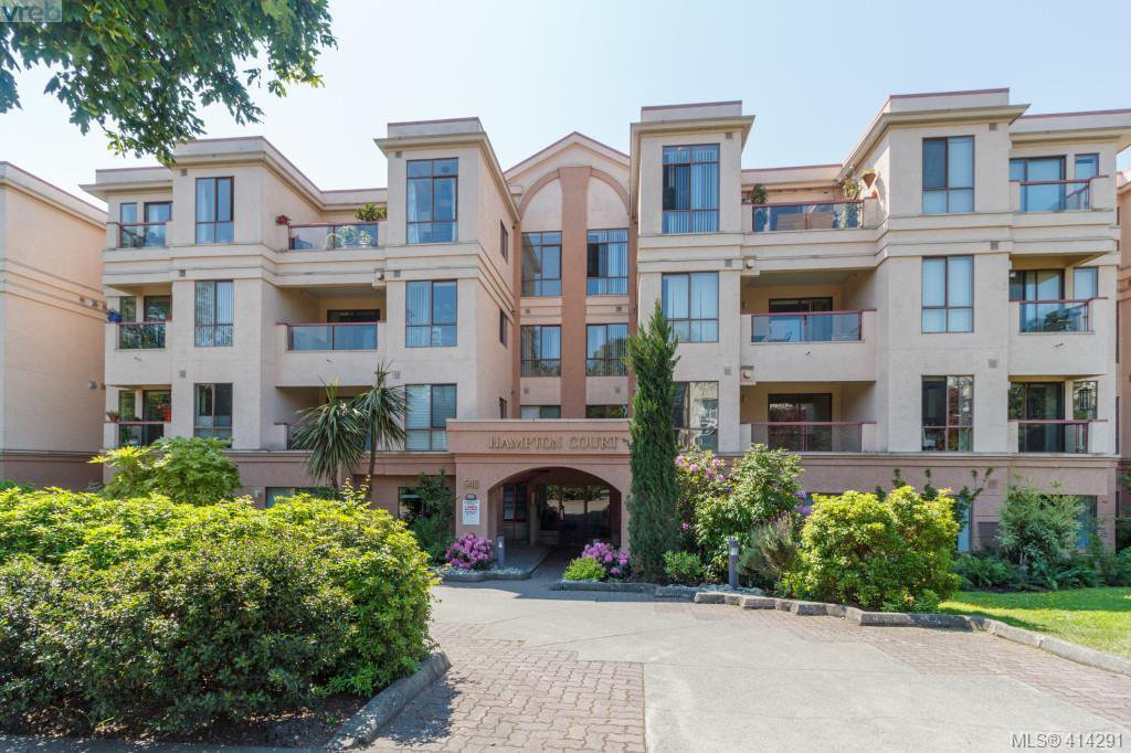 Main Photo: 308 545 Manchester Rd in VICTORIA: Vi Burnside Condo Apartment for sale (Victoria)  : MLS®# 821719