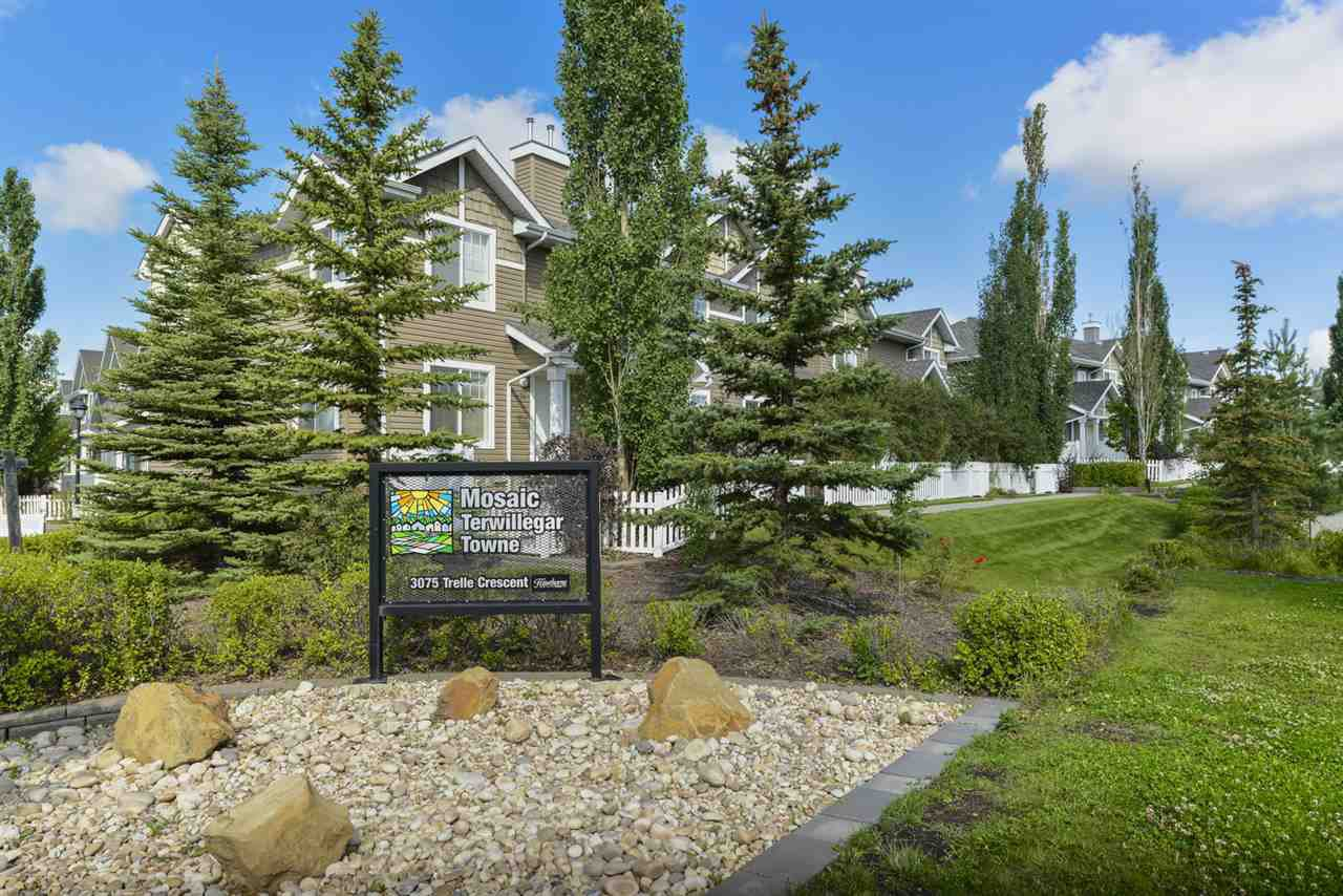 Main Photo: 75 3075 TRELLE Crescent in Edmonton: Zone 14 Townhouse for sale : MLS®# E4168776
