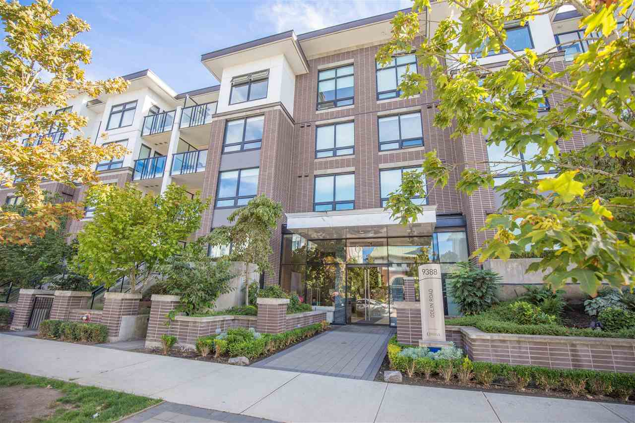 "Main Photo: 319 9388 ODLIN Road in Richmond: West Cambie Condo for sale in ""OMEGA"" : MLS®# R2434322"