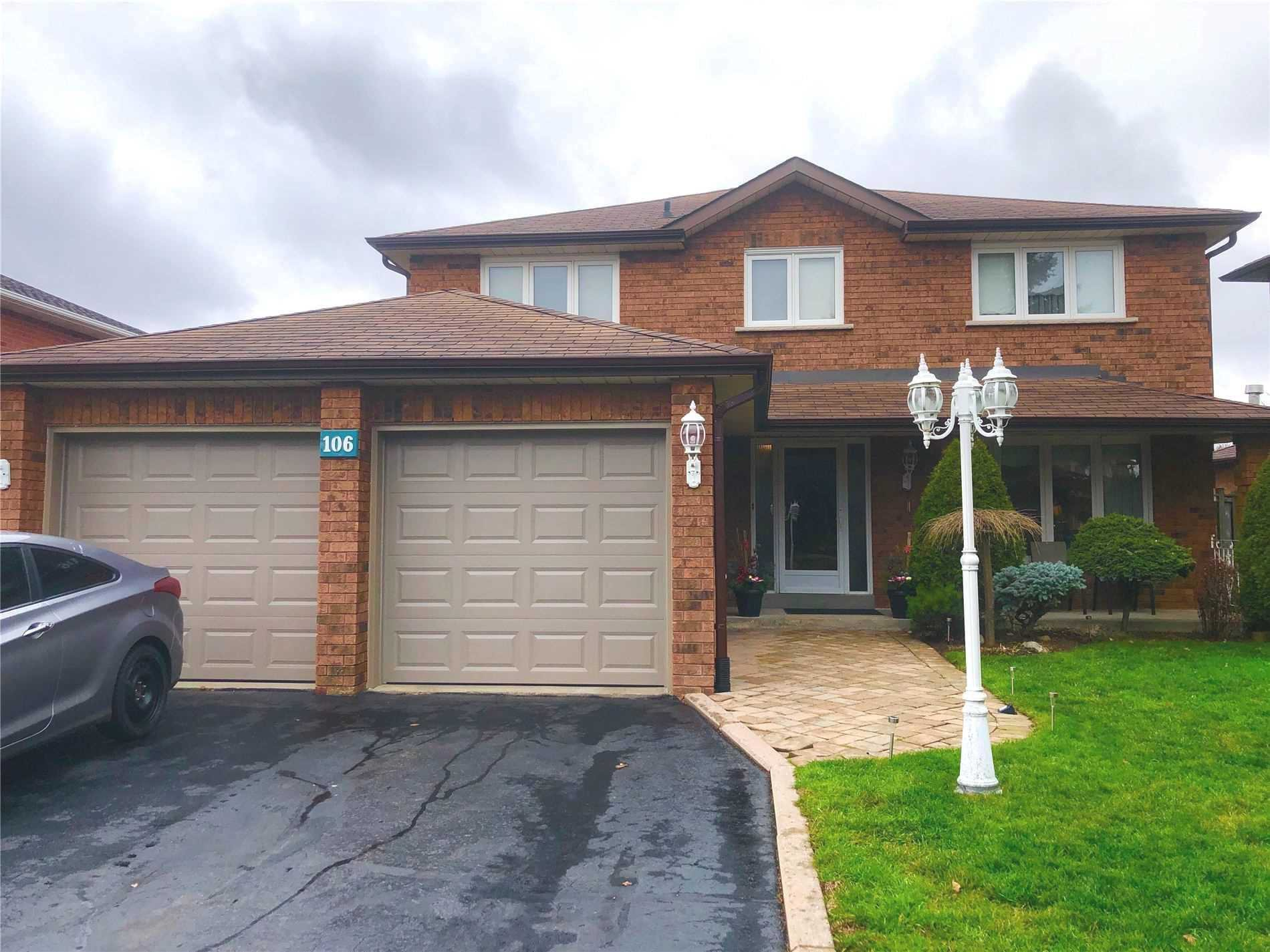 Main Photo: 106 Aspen Cres in Whitchurch-Stouffville: Stouffville Freehold for sale : MLS®# N4999401