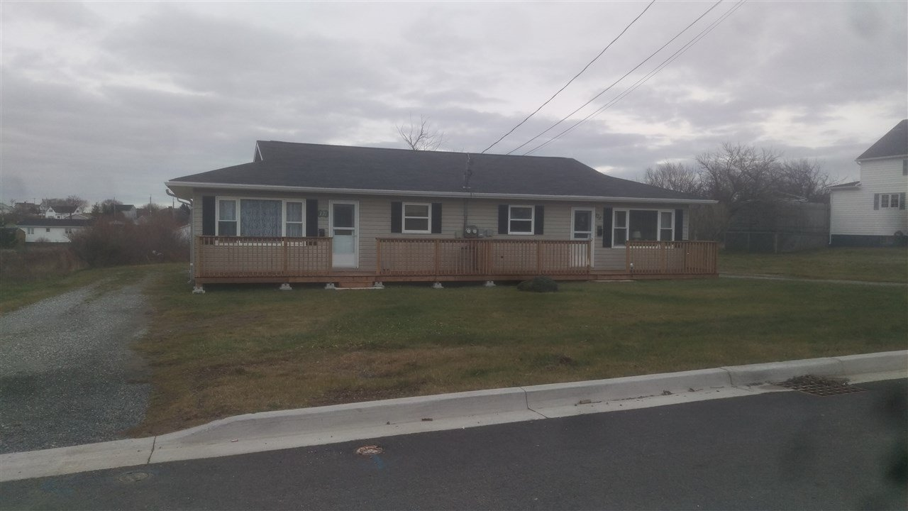 Main Photo: 121 / 123 Poplar Street in Glace Bay: 203-Glace Bay Multi-Family for sale (Cape Breton)  : MLS®# 202024888