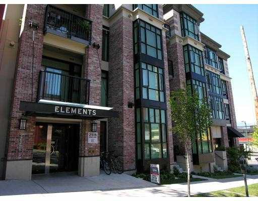 """Main Photo: 312 2515 ONTARIO ST in Vancouver: Mount Pleasant VW Condo for sale in """"ELEMENTS"""" (Vancouver West)  : MLS®# V599686"""