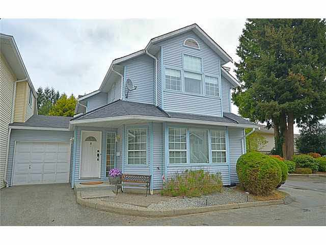 "Photo 1: Photos: 8 19236 119TH Avenue in Pitt Meadows: Central Meadows Townhouse for sale in ""WILLOW PARK"" : MLS®# V1118035"